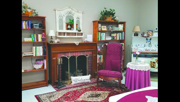 Connie Peterson, owner of the Quilters' Cottage, Kiester, Minn., used her love of decorating to design a quaint tea room–The Cottage Tea Room. The tea room will have its grand opening, May 16-18.